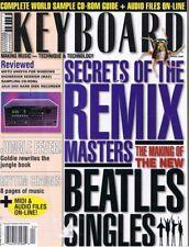 1996 BEATLES Singles, JOHN LENNON Vocal Piano Demo, AKAI DR8, Keyboard Magazine