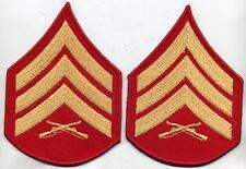 US Marine Corps USMC Sergeant Dress Chevron Stripes Pair Male