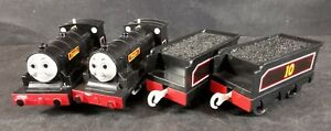 Donald and Douglas with Tenders Motorised Train Trackmaster Thomas And Friends
