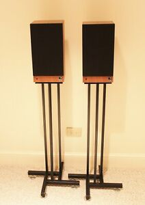 KEF Bookend Speakers Reference Model 101 with Stands