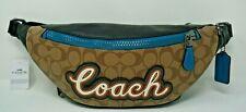 Coach Men's Signature Canvas with Coach Script Warren Crossbody Belt Bag F76795