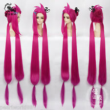 League of Legends Jinx Cos Cosplay Wig+Free Hairnet