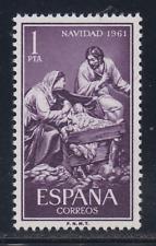 ESPAÑA (1961) NUEVO MNH SPAIN - EDIFIL 1400 NAVIDAD - SAGRADA FAMILIA