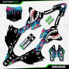 CMGK Savage Camo Racing Graphics Kit fits 14-21 Kawasaki KX85 Kx 85 Decal
