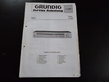 Original Service Manual  Grundig  T 7000