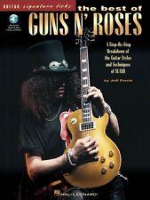 The Best of Guns N' Roses Sheet Music Signature Licks Guitar Book 000695183