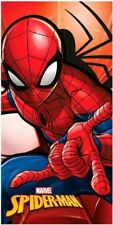 SPIDERMAN SERVIETTE DE TOILETTE BAIN DRAP PLAGE MARVEL