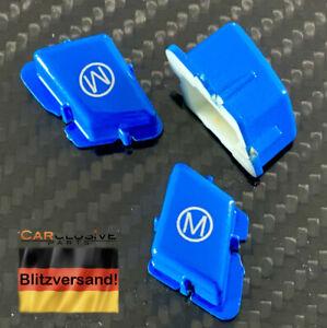 M Modus Taste Knopf Button blau für BMW M3 E90 E92 E93 E82 1er M Lenkradtaste