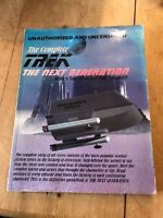"*RARE* LARGE STAR TREK ""UNAUTHORIZED TREK - THE COMPLETE NEXT GENERATION"" BOOK"