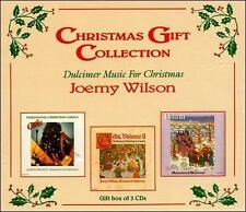 JOEMY WILSON 3 CD BOX SET DULCIMER MUSIC FOR CHRISTMAS GIFT COLLECTION
