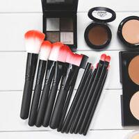 12pcs Makeup Brush Foundation Face Powder Contour Eyeshadow Blush Brushes Kit
