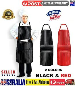 1Pcs Women Waist Apron Kitchen Restaurant Cooking 2pocket Aprons Daily Household