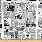 Timeless Treasures Quilting News Quilt Fabric C9699 By The Yard NEWSPRINT