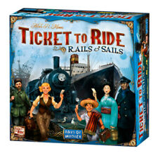 Ticket To Ride Rails & Sails Board Game NEW