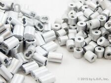 250 Ferrule 3/32 Dbl. Barrel Aluminum Cable Snare Wire Swage +250 Line Stop End