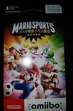Mario Sports SuperStars Amiibo Pack 5-Pack |BRAND NEW SEALED Nintendo