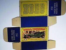 REPLIQUE  BOITE ROLLS ROYCE SILVER GHOST 1907  / MATCHBOX 1960