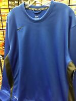 Nike Therma Fit Long Sleeve Royal Blue Top New With Tags Size Mens Large