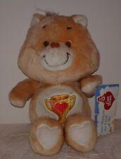 "CHAMP BEAR 1984 Kenner Care Bear 13/"" VINTAGE RARE *EUC* Tan *"