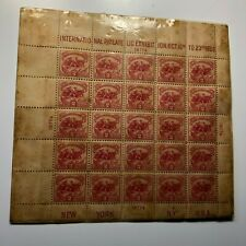 1926 2c Battle of White Plains Philatelic Souvenir Sheet MNH