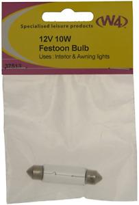 W4 12V 10W Festoon Bulb 37513