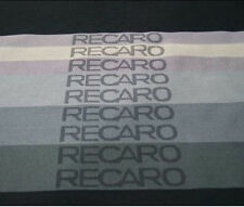 50x160cm Gradation Recaro Fabric Racing Seat Cover Door Panel Decoration