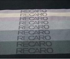 10mX1.6m Gradation Recaro Seat Interior Racing Car Seat Fabric Cloth JDM