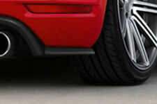 Heckansatz Seitenteile für Golf 6 GTI GTD ABS im Golf 7GTI Look tiefe ausführung