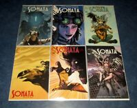 SONATA #1 2 3 4 5 6 1st print set iMAGE COMICS 2019 NM David Hine Brian Haberlin