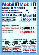 1/18 1/12 1/24 1/20 decals Mobil 1