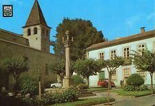 Portugal - Chaves, Praca da Republica (pormanor) - Vintage Postcard