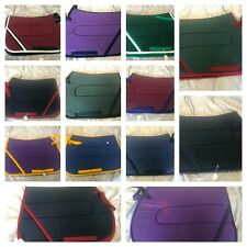 SADDLE PADS - CHEAP ASSORTED SIZES, COLOURS AND CONDITION