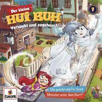 DER KLEINE HUI BUH - (7): DIE GESCHRUMPFTE HEXE/MONSTER UNTER DEM BETT   CD NEW