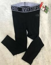 Nuevo Con Etiquetas $90 The North Face Mujeres Leggings Terra Metro apretado FlashDry Prenda Interior M/L