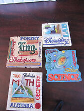 VANMARK Masters Of Learning ACADEMIC MAGNETS new in box 81783 english MATH etc