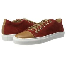 KENNETH COLE HOMME sport voiture Low-top Sneakers, Rouge (Red 600), 7.5 UK 41 UE