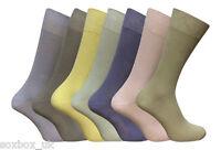 7 Pairs EX High Street Freshfeet Mens Cotton Rich Sock silver technology 10-12