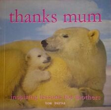 """NEW Cute gift Photo Book """"thanks mum"""" FREE POST!! Paperback 2013"""