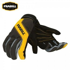 Frabill All Purpose Task Gloves Ice Fishing & Cold Weather Sports - Choose Size