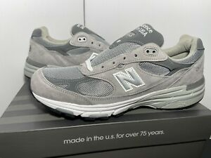 "New Balance 993 ""Grey"" Mens Sz 10.5-12.5 2A XNarrow/B Narrow Made In USA MR993GL"