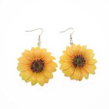 Drop Dangle earrings Jewelry Gift Fashion Women Sunflower Ear Acrylic
