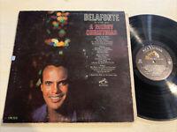 Harry Belafonte A Merry Christmas LP RCA Mono Holiday VG