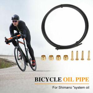 Fahrrad Bremsleitung Bremsrohr Hydraulik Scheibenbremse Schlauch MTB für Shimano