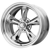 "4-AR VN605 Torq Thrust D 15x6 5x4.5"" +4mm Chrome Wheels Rims 15"" Inch"
