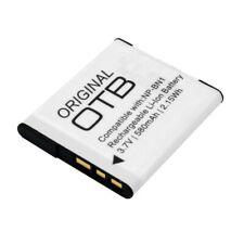 Akku für Sony Cyber-shot DSC-W630, 580mAh, ersetzt: NP-BN1, NP-BN