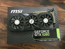 MSI NVIDIA GeForce GTX 1080 Duke - 8GB GDDR5X PCIE (BOX NOT INCLUDED)