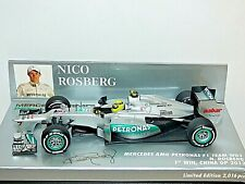 Minichamps Mercedes AMG Petronas F1 Team W03 Nico Rosberg Winner China GP 2012