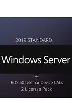 Remote Desktop Services 50 Device CALs + Server 2019 Standard