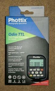 Phottix Odin TTL Flash Trigger V1.5 Transmitter for Canon Camera #PH89064 NEW