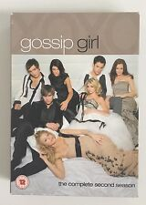 GOSSIP GIRL SEASON 2 DVD BOX SET COMPLETE SECOND SEASON 7 DISC UK REGION 2